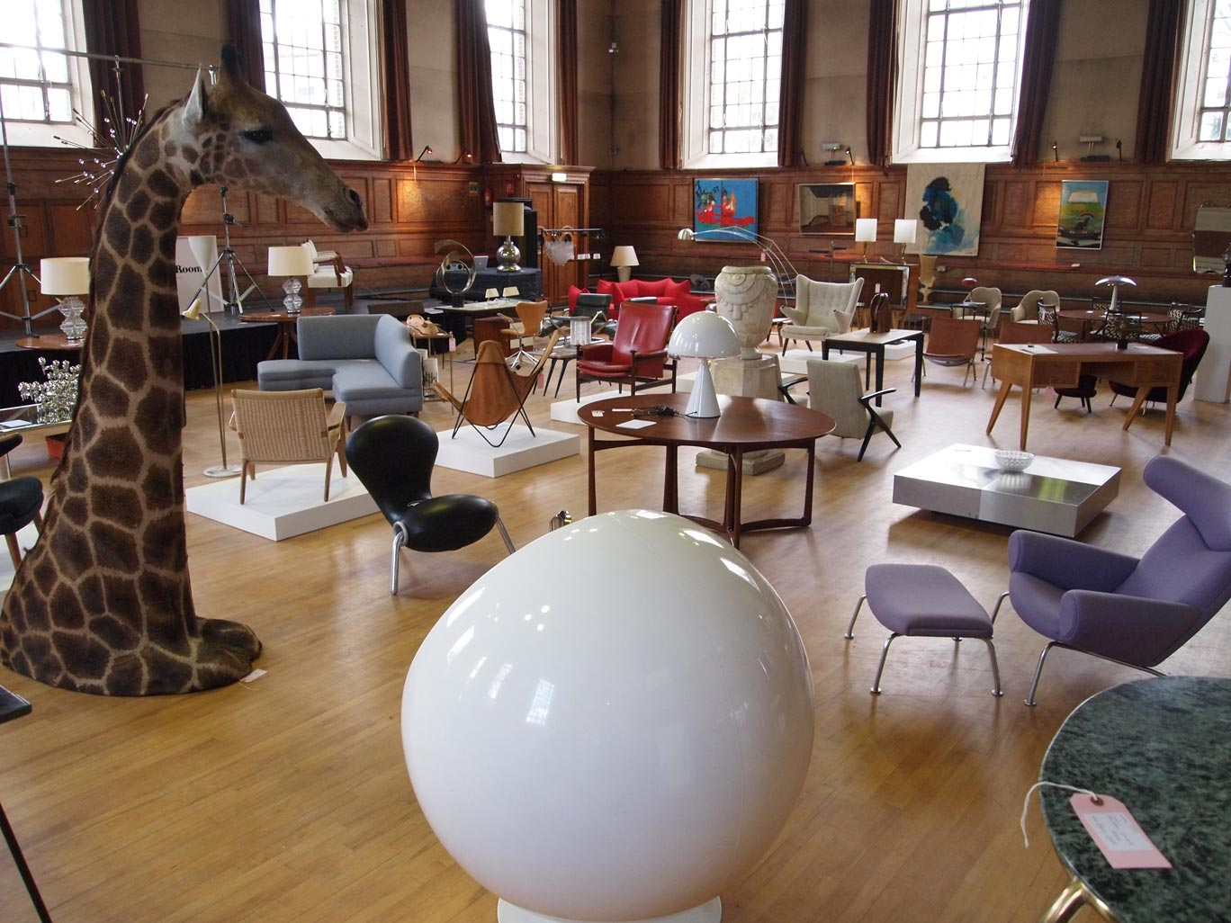 The Cabinet Rooms - an auction of mid century furniture art and design.